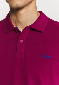 s.Oliver - KURZARM - Polo shirt - pink - 5