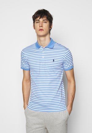 INTERLOCK - Poloshirt - cabana blue/white