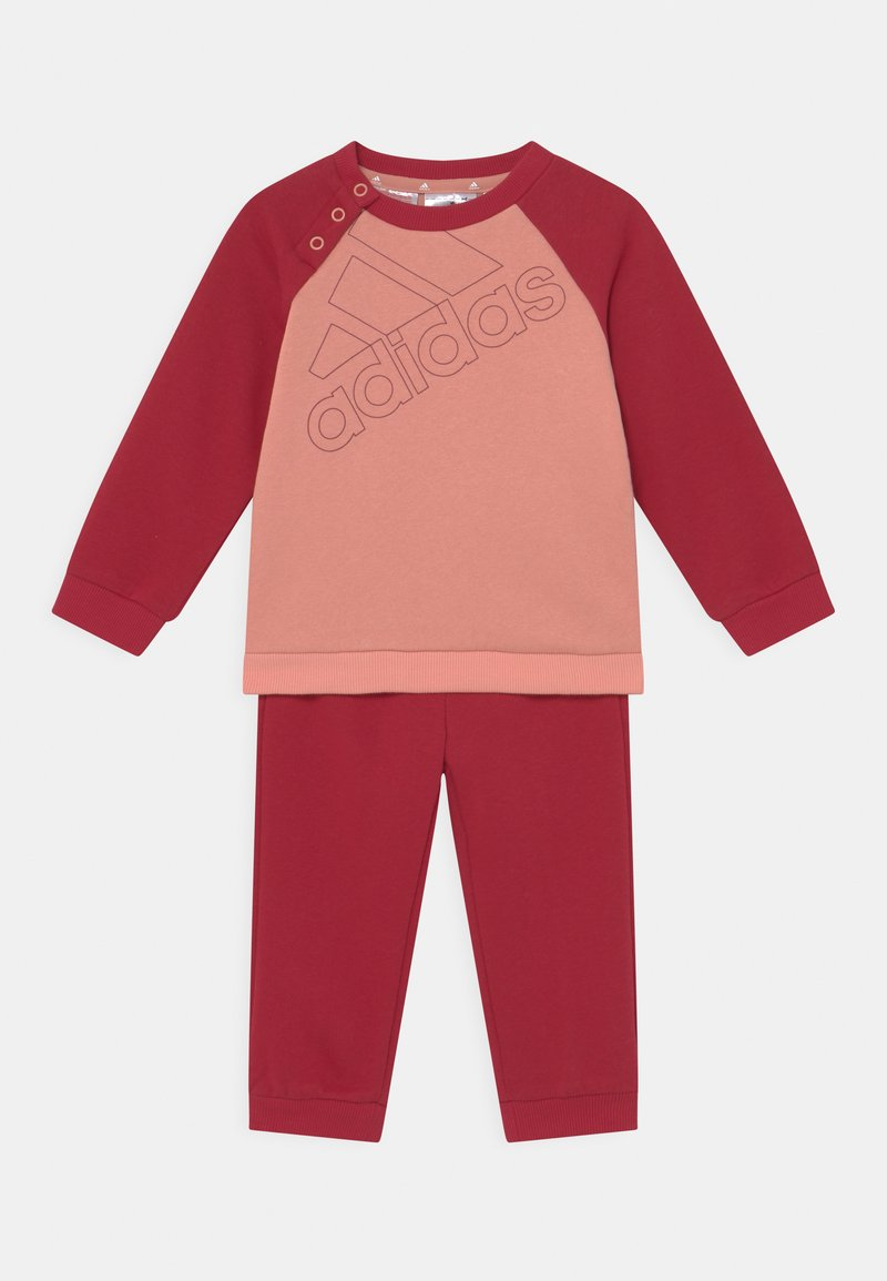 adidas Performance - SET UNISEX - Tuta - ambient blush/victory red