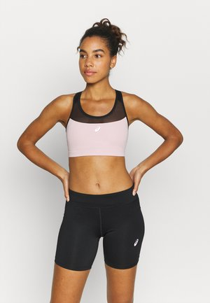 NEW STRONG BRA - Sujetador deportivo - performance black/ginger peach