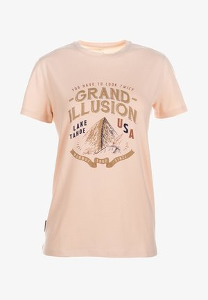 CHALK CAN  - Print T-shirt - grand illusion