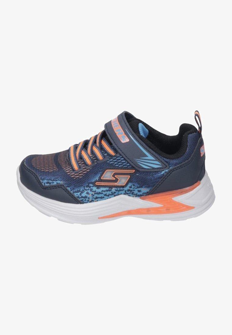 Skechers - Trainers - navy/orange