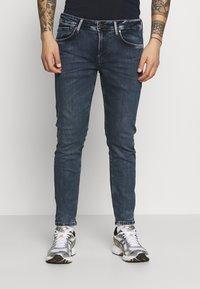 Pepe Jeans - FINSBURY - Jeans slim fit - blue denim - 0