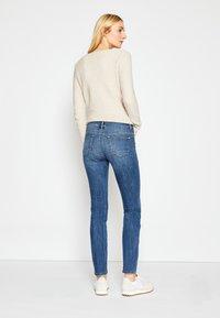 TOM TAILOR - ALEXA - Slim fit jeans - used mid stone blue denim - 3