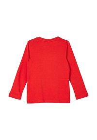 s.Oliver - LANGARMSHIRT - Long sleeved top - red - 1