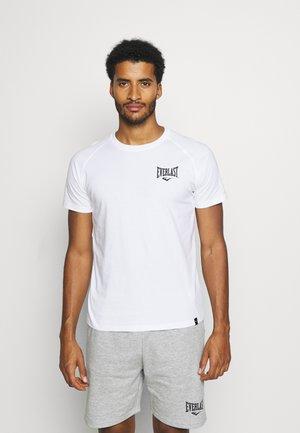 RAGLAN TEE SHAWNEE - T-shirt z nadrukiem - white