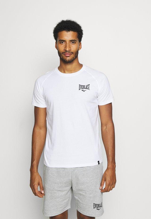 RAGLAN TEE SHAWNEE - T-shirt imprimé - white