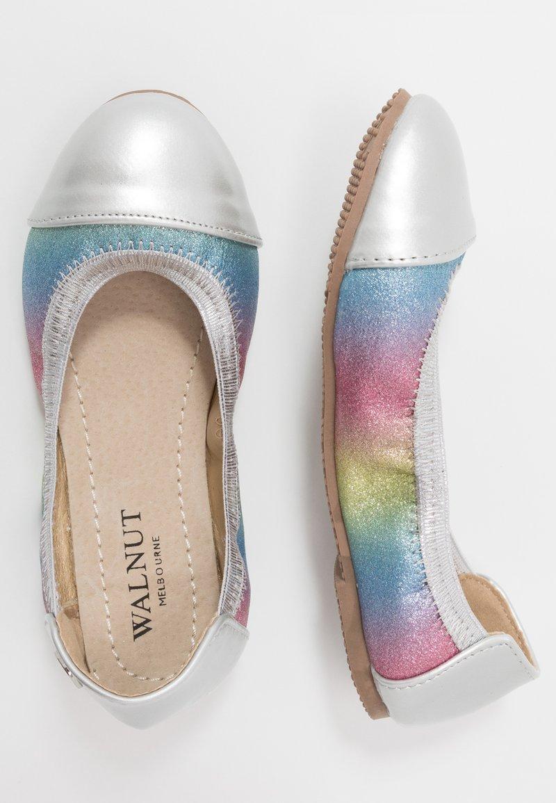 Walnut - CATIE SHIMMER - Ballet pumps - rainbow