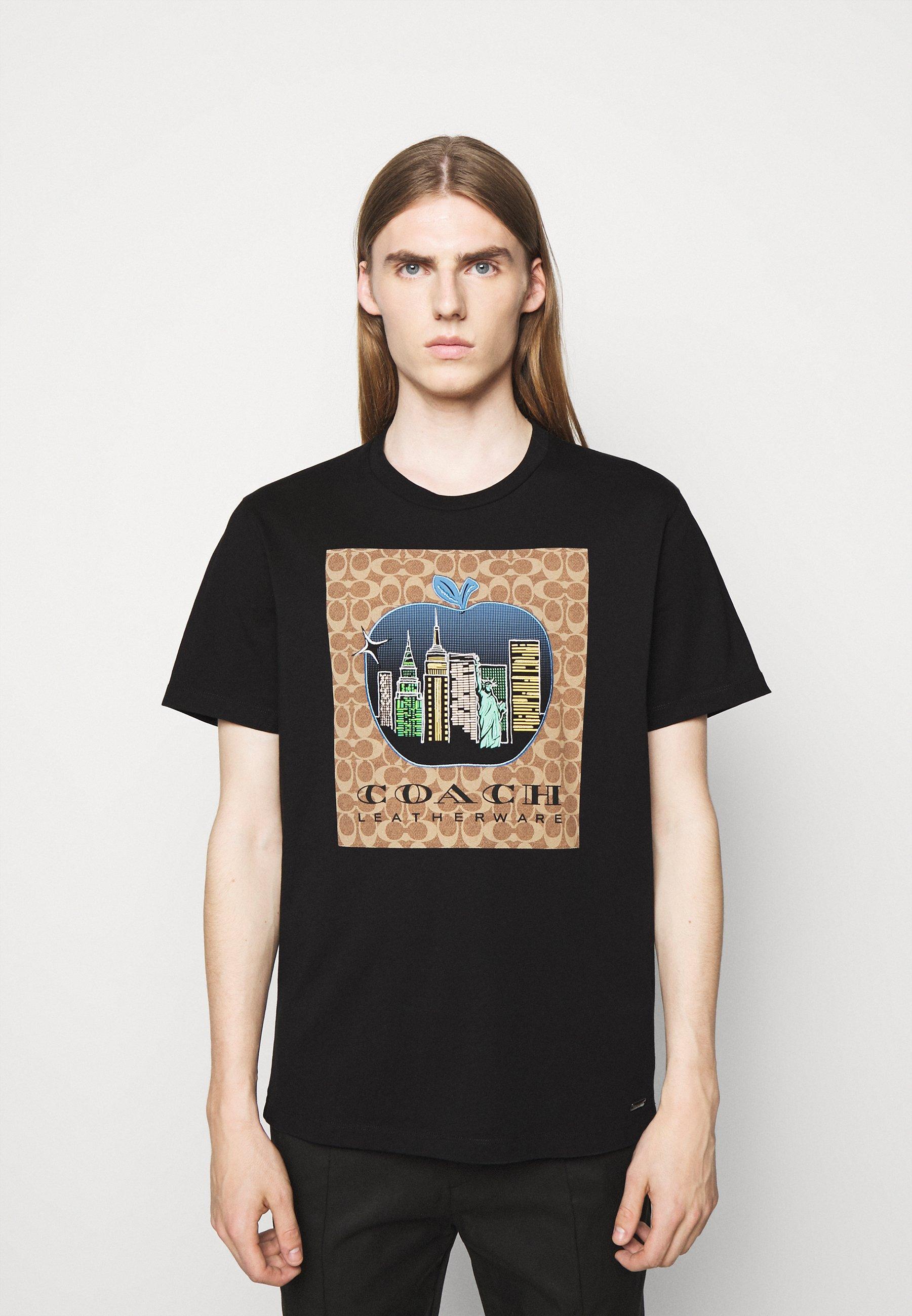 Men APPLE SIGNATURE  - Print T-shirt