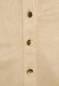 NAF NAF - OUDA - A-snit nederdel/ A-formede nederdele - camel - 2