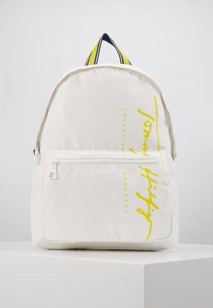 SIGNATURE BACKPACK - Plecak - white