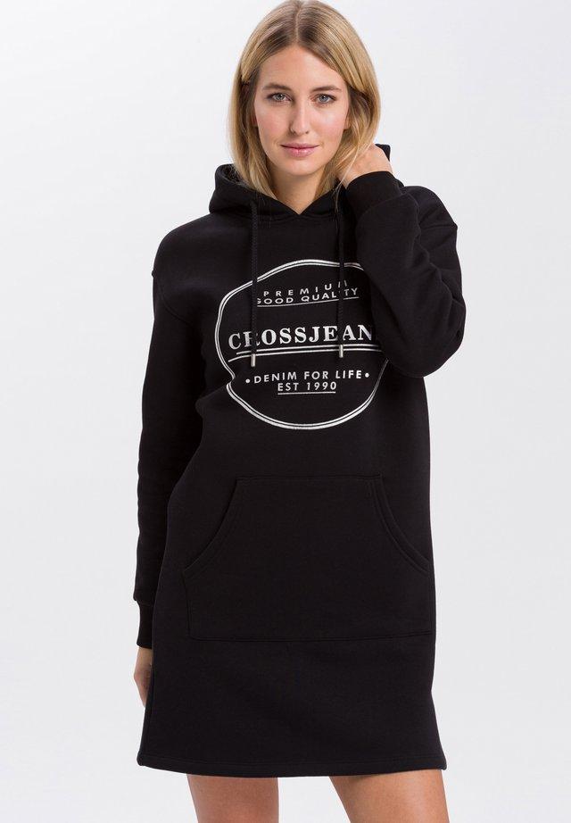 SWEATKLEID - Day dress - black