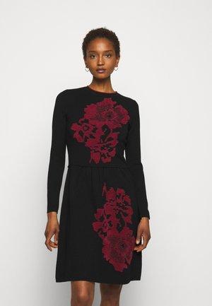 DIECI - Jumper dress - black