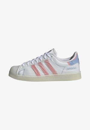 SUPERSTAR FUTURESHELL - Trainers - ftwr white/semi solar red/bright blue