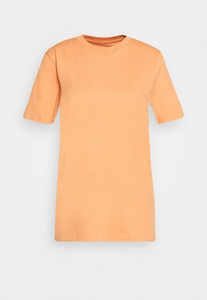 SFMY PERFECT TEE BOX CUT COLOR - Basic T-shirt - caramel