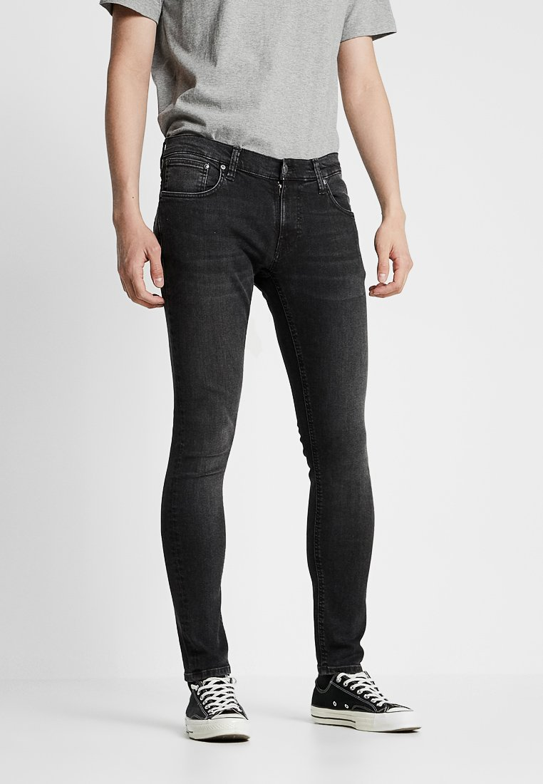 Nudie Jeans - TIGHT TERRY - Jeans Skinny Fit - black treats