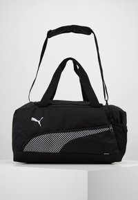 Puma - FUNDAMENTALS SPORTS BAG - Sportväska - black