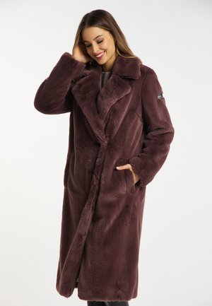 METROPOLIS - Winter coat - chestnut