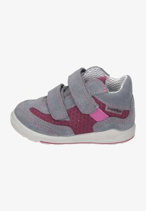 Baby shoes - grau  fuchsia  rosada