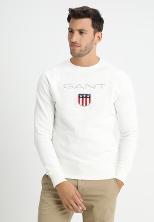 SHIELD C NECK - Sweatshirt - eggshell