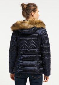 usha - Winter jacket - marine - 2