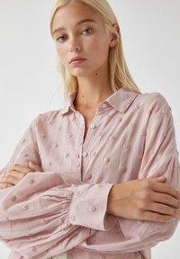 PULL&BEAR - Koszula - pink - 3