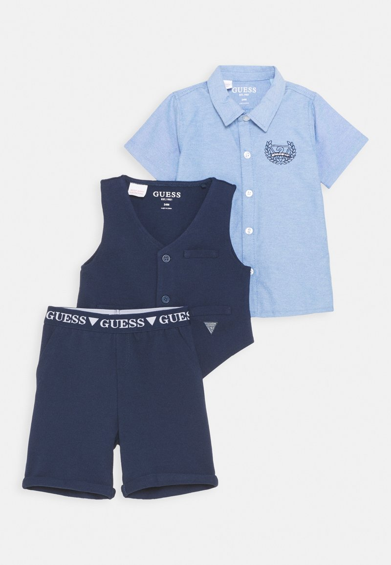 Guess - VEST PANTS SET - Vesta - bleu/deck blue