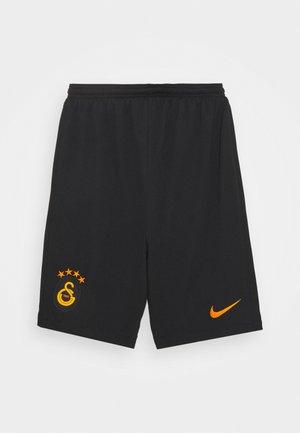 GALATASARAY ISTANBUL UNISEX - Sports shorts - black/vivid orange