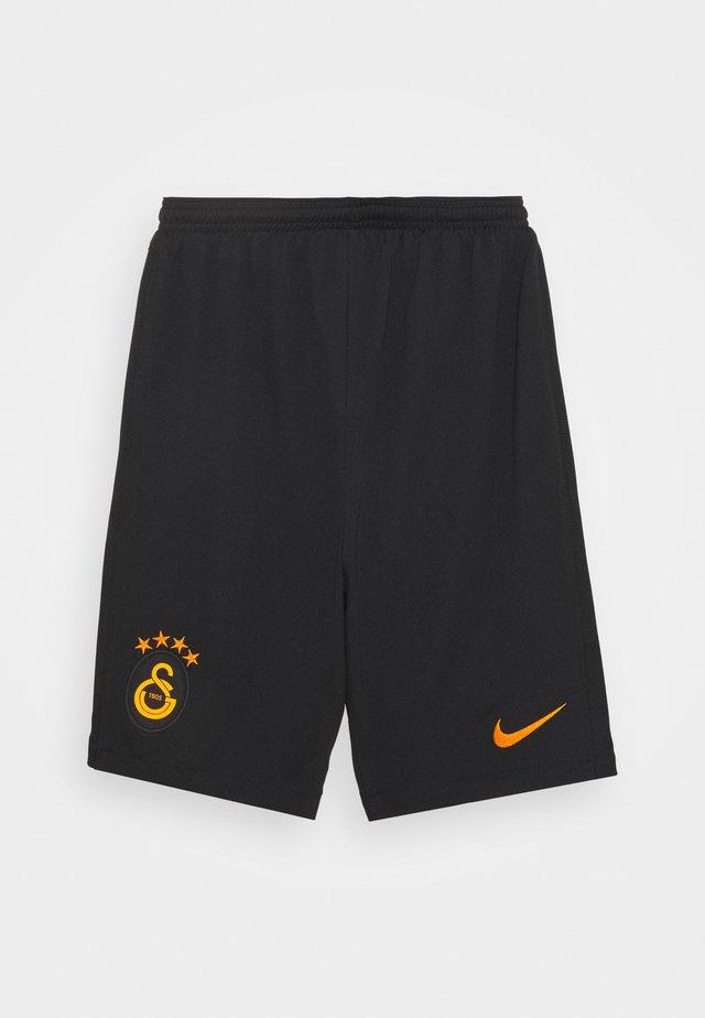 GALATASARAY ISTANBUL UNISEX - Pantaloncini sportivi - black/vivid orange