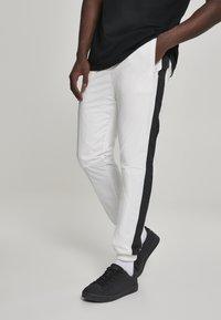 Urban Classics - Tracksuit bottoms - white, black - 0