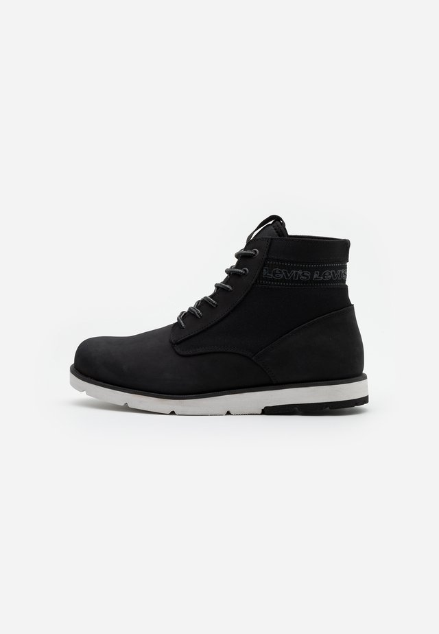 JAX XLITE - Lace-up ankle boots - regular black