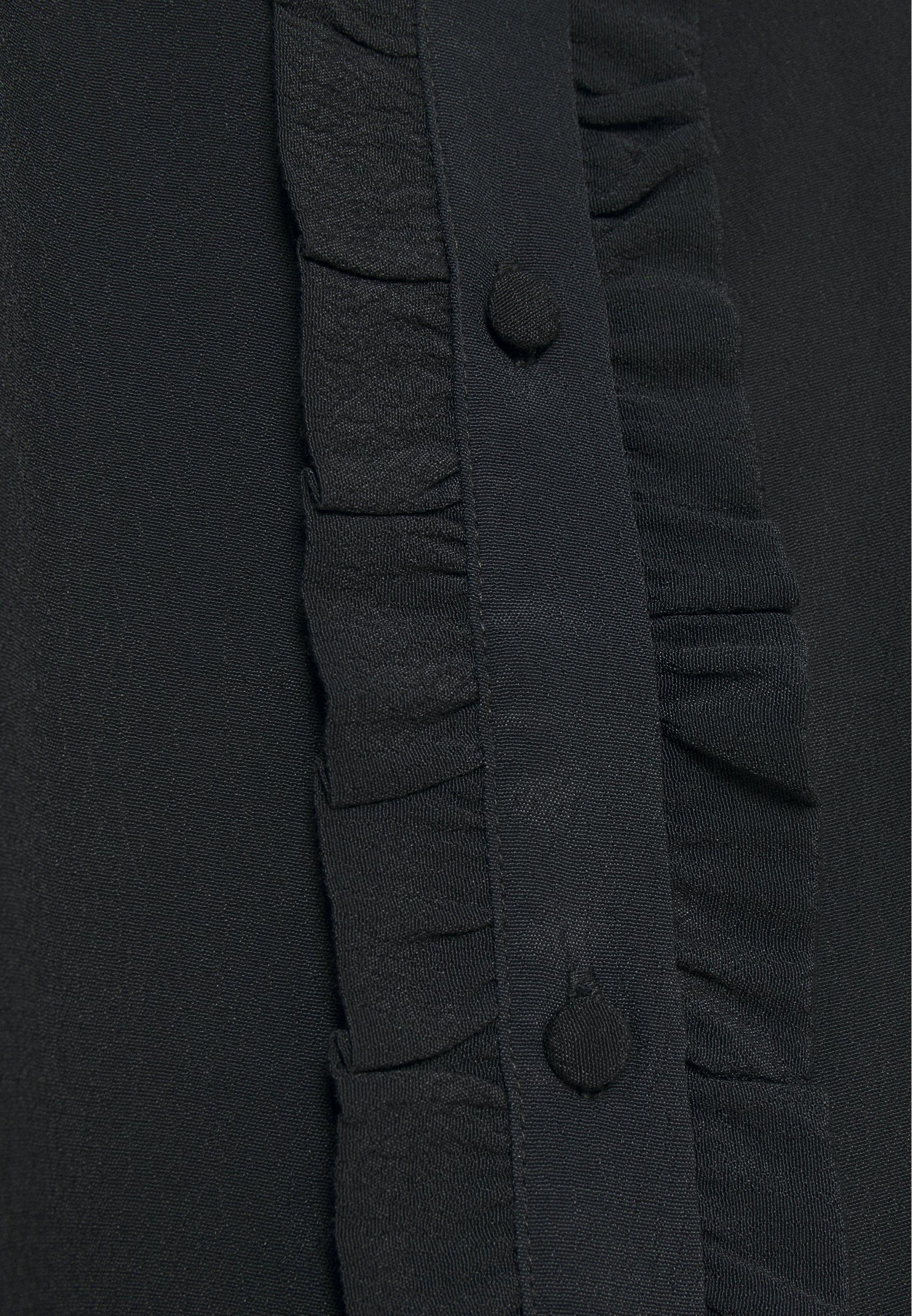 Bruuns Bazaar LILLI MINDY DRESS Blusenkleid black/schwarz