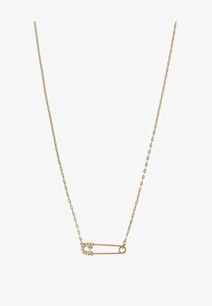 SO COOL PENDANT SAFETYPIN - Necklace - gold-coloured