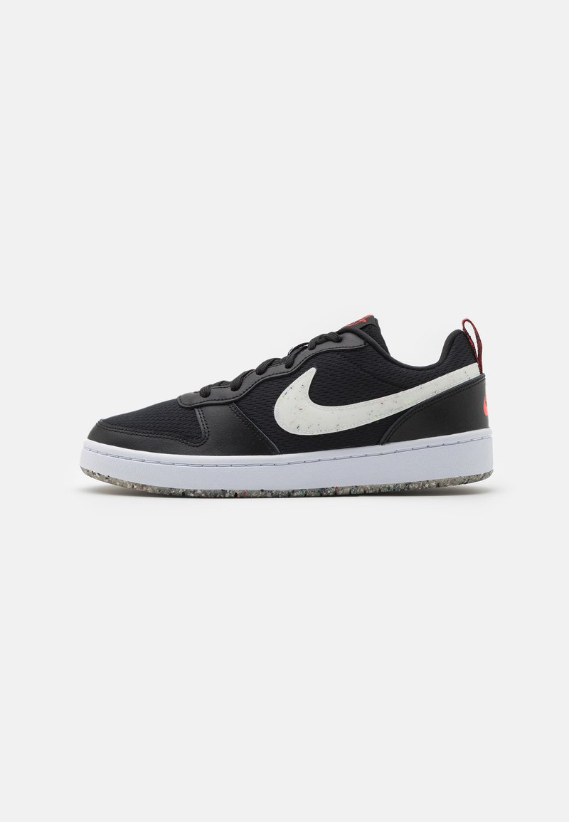Nike Sportswear - COURT BOROUGH 2 MTF UNISEX - Trainers - black/white/crimson