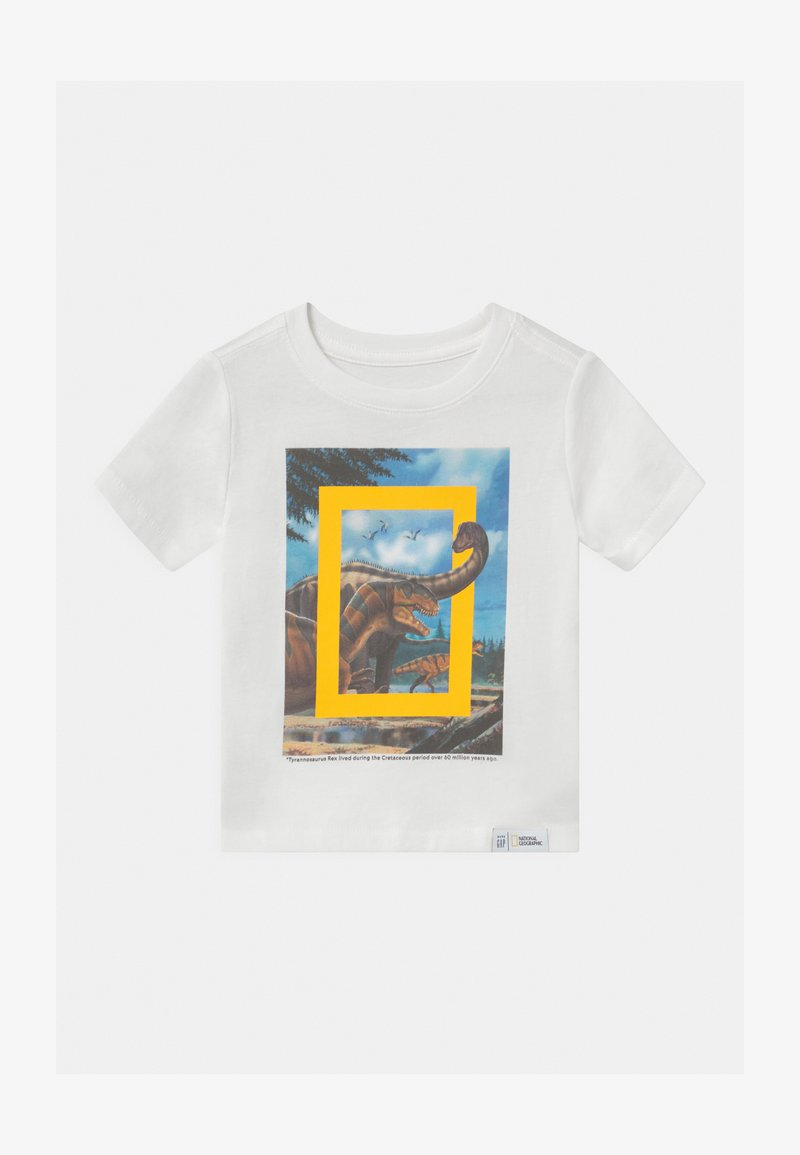 GAP - TODDLER BOY NATIONAL GEOGRAPHIC  - T-shirt z nadrukiem - new off white