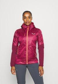 Salewa - ORTLES HYBRID - Outdoor jacket - rhodo red - 0