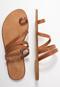 Office Wide Fit - SEVILLE WIDE FIT - T-bar sandals - tan - 3