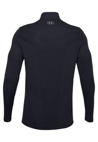 Under Armour - SEAMLESS 1/2 ZIP - Long sleeved top - black - 1