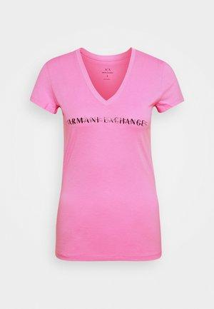 V-NECK - Camiseta estampada - walk of fame