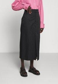 Rika - RAY SKIRT - A-line skirt - black - 0