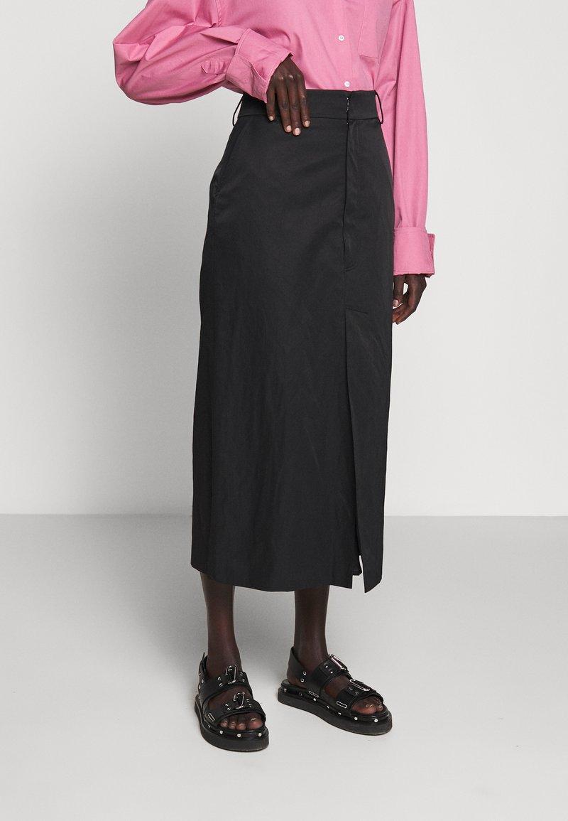 Rika - RAY SKIRT - A-line skirt - black