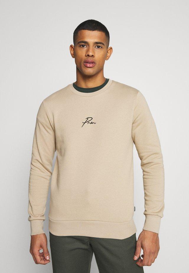 JPRBLA CREW NECK - Sweater - crockery
