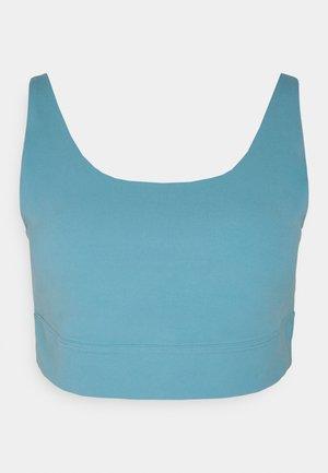 YOGA LUXE PLUS - Light support sports bra - cerulean/light armory blue