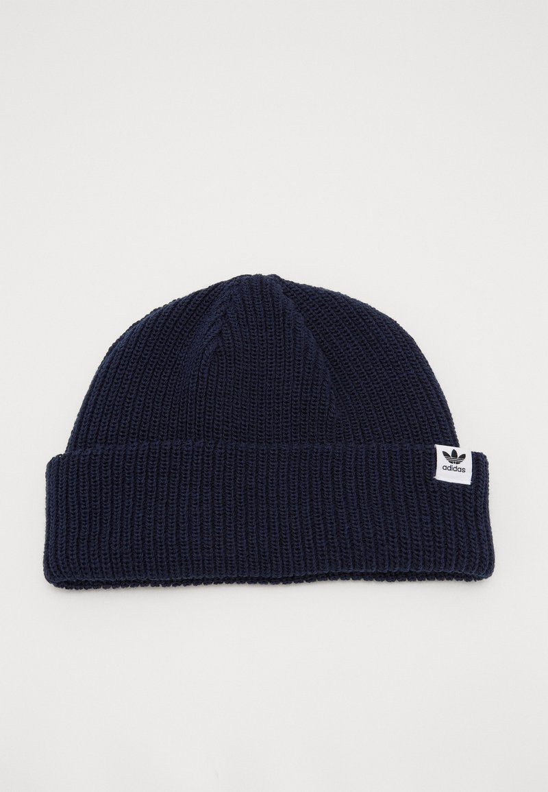 adidas Originals - SHORTY BEANIE - Czapka - conavy/white