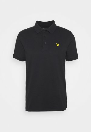 SLEEVE LOGO - Polo shirt - true black