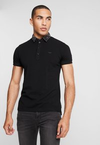 Diesel - T-MILES-NEW POLO SHIRT - Polotričko - black - 0