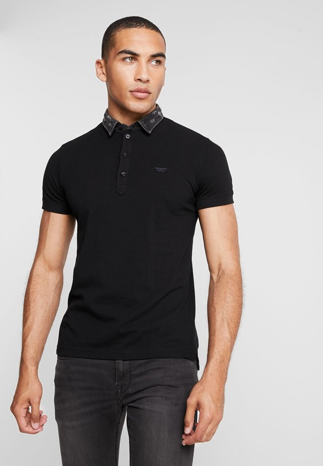 T-MILES-NEW POLO SHIRT - Poloshirt - black