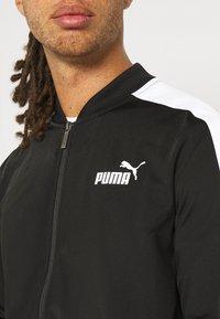 Puma - BASEBALL TRICOT SUIT - Tracksuit - puma black - 6