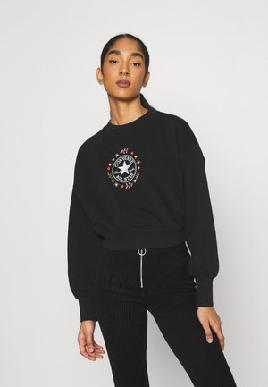 WOMENS WANDER CREW - Sweatshirt - black