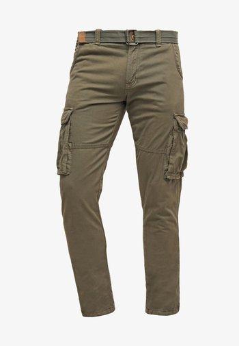 WILLIAM - Pantaloni cargo - army